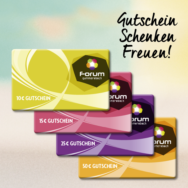 Gutschein für das Forum Gummersbach